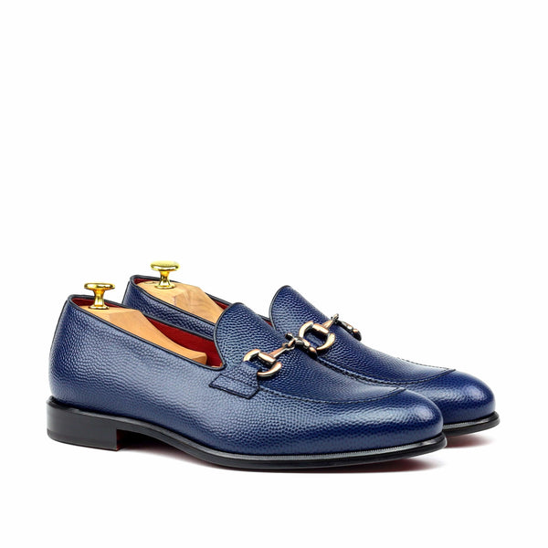 Loafer - Pebble Grain-Albert Couture