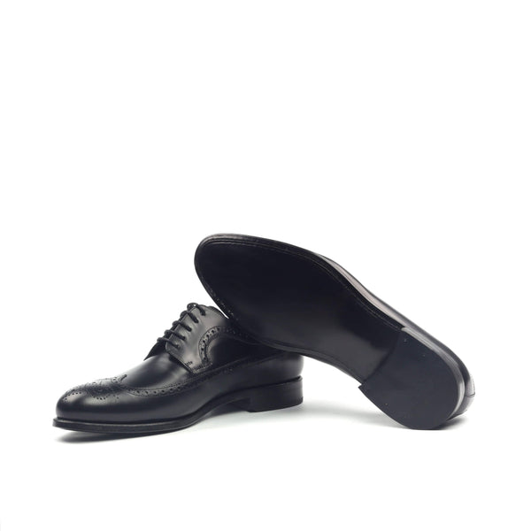 Longwing Butcher - Polished Calf Black-Albert Couture