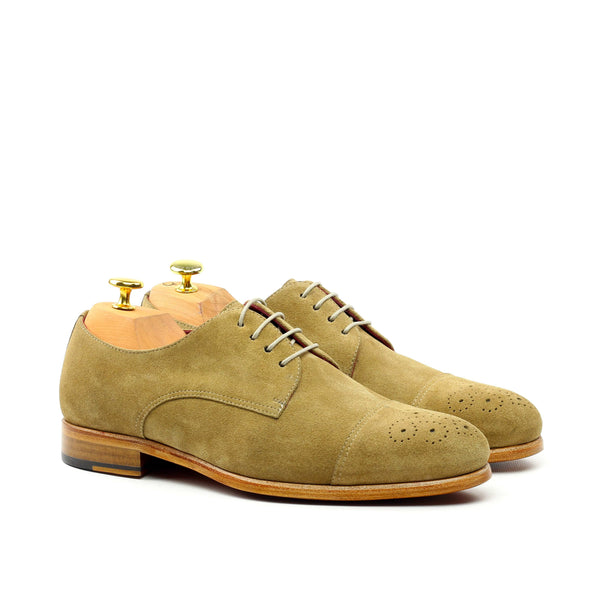 Oxford - Lux Suede Camel-Albert Couture