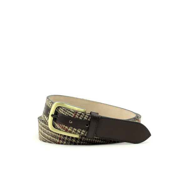 Belt - Box Calf Brown-Albert Couture