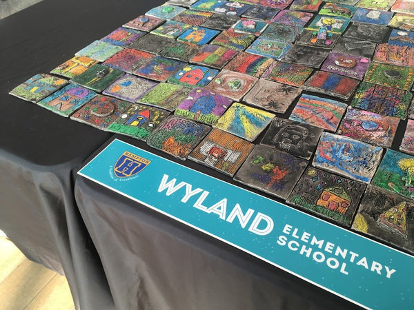 Caitlin Wismer and Wyland Elementary School: A Clay Gathering