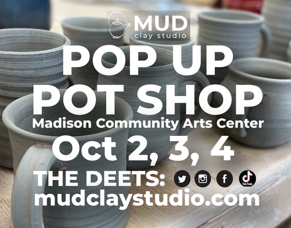 Mud Clay Studio Plans Big Show and Sale