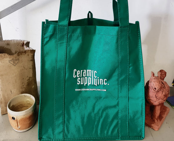 * CERAMIC SUPPLY REUSABLE BAGS ARE NOW AVAILABLE *
