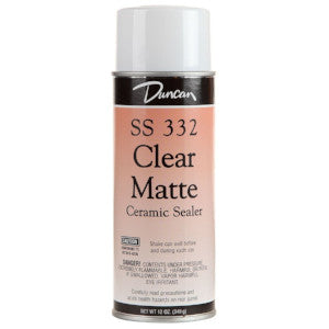 Clear Matte Spray Sealer