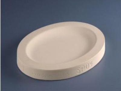Oval Platter Slump Mold - SP04