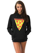 Load image into Gallery viewer, Women's Pizza Pocket Hoodie!
