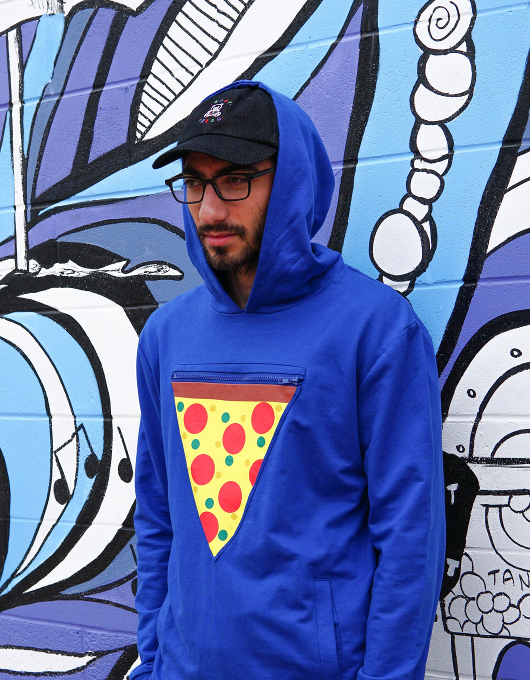 Men's Pizza Pocket Hoodie!