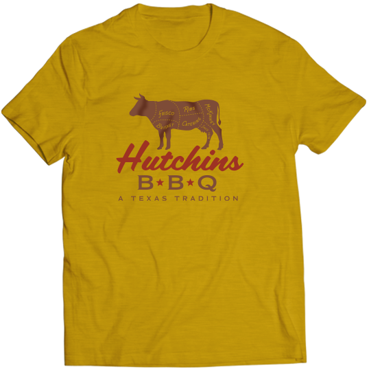 Meat Cut Tee - Hutchins BBQ