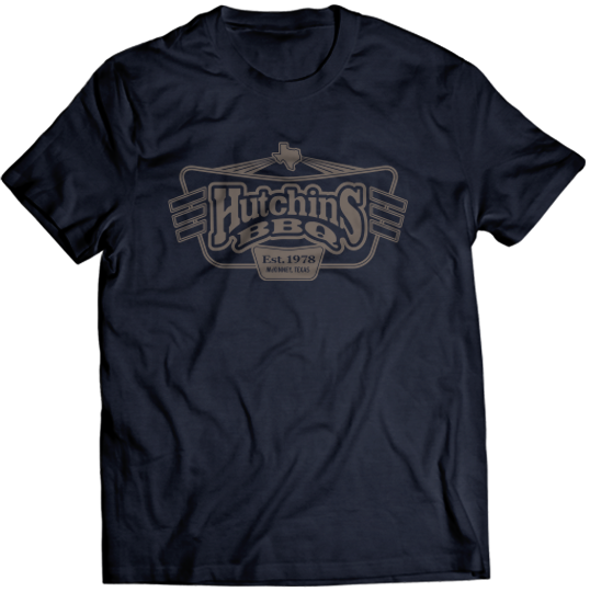 Neon Sign Tee - Hutchins BBQ