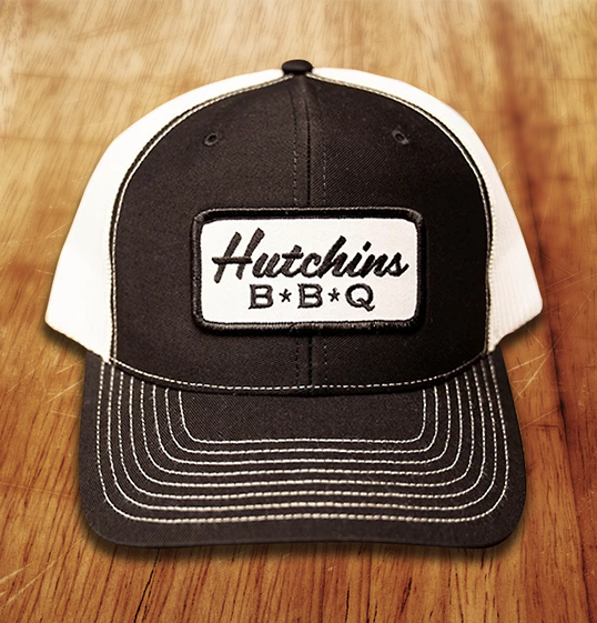 White Patch Trucker - Hutchins BBQ