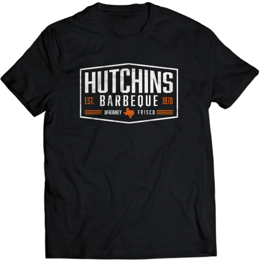 Polygon Design Tee - Hutchins BBQ