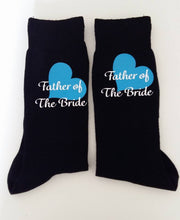Load image into Gallery viewer, HTV wedding party sock vinyl