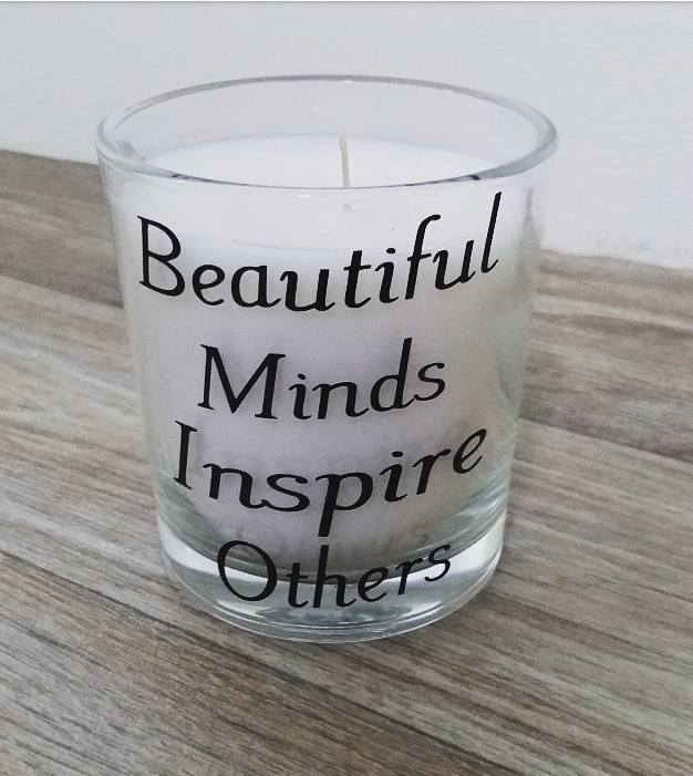 Beautiful minds candle vinyl