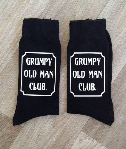 HTV grumpy old man club vinyl