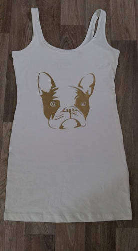 HTV Cute frenchie face vinyl