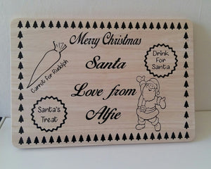 Christmas Eve board large vinyl