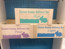 Load image into Gallery viewer, Easter bunny delivery create vinyl