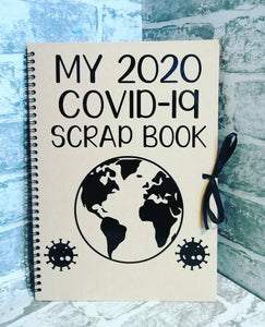 My Covid-19 scrap book/notebook vinyl