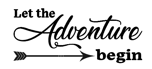 Let the adventure begin car decal