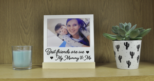 Best friends are we my mummy & me plaque vinyl