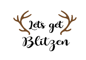 Let's get blitzen glass vinyl