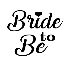 Bride to be wine/gin glass vinyl