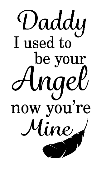 Daddy my angel wine bottle vinyl