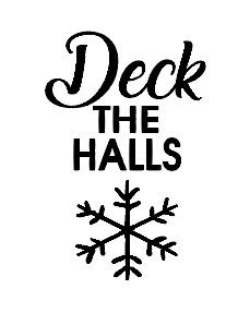 Deck the halls flute Christmas vinyl