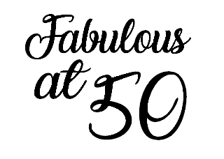 Fabulous at '50' glass vinyl - can be personalised with any age