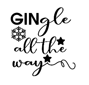GINgle all the way Christmas vinyl