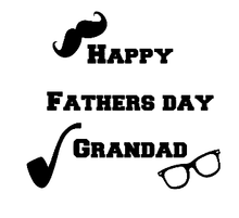 Load image into Gallery viewer, Happy Father's day grandad vinyl