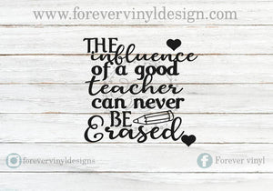 Influence of a good teacher vinyl