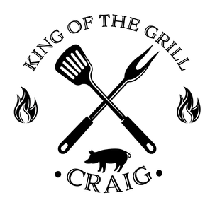 HTV King of the grill