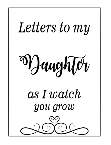 letters to my daughter notebook vinyl