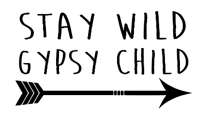 Stay wild car decal