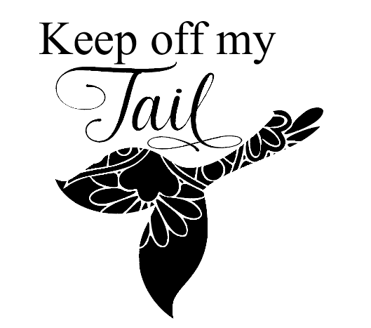 Keep off my tail car decal