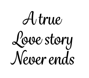 true love story candle vinyl
