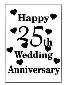 Anniversary lantern vinyl - can be personalised