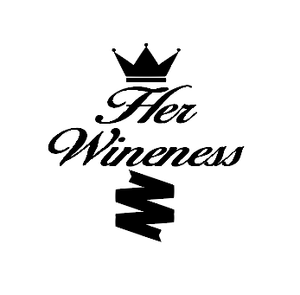 Her wineness wine/gin glass vinyl