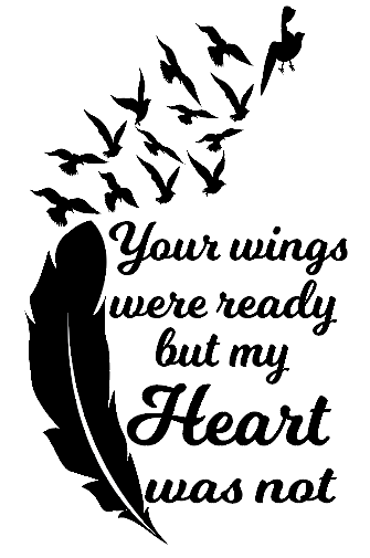 Your wings were ready wine bottle vinyl