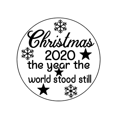 Christmas 2020 bauble vinyl