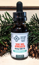 Load image into Gallery viewer, 500mg Full Spectrum Oil Peppermint