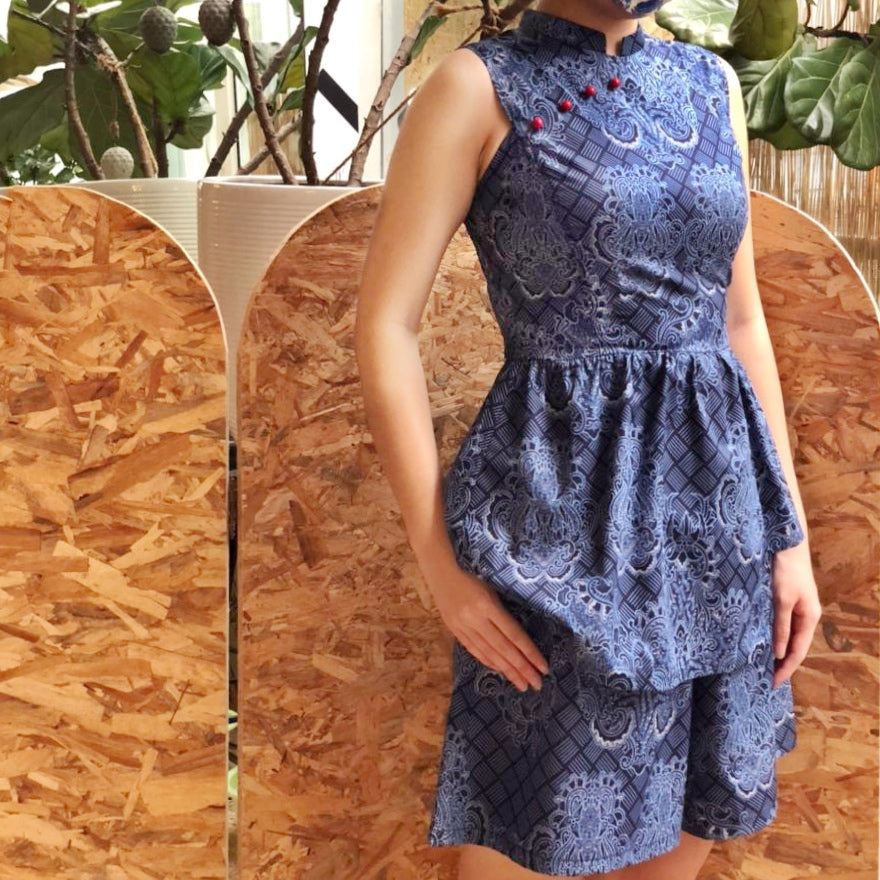 Pre-Order: The Local in Cobalt Batik