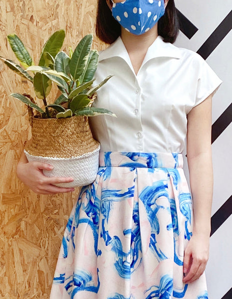 Rockabilly Vintage Shirt in Dandelion