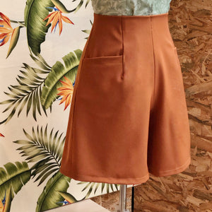 Pre-Order: Aria Shorts in Toffee