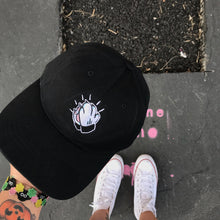 Load image into Gallery viewer, 'Praying Paws' Dad Hat (Black)