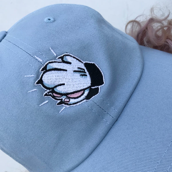 'Praying Paws' Dad Hat (Blue)