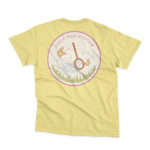 Load image into Gallery viewer, 'Fuck the System' T-Shirt (Banana Cream)