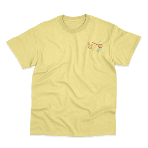 'Fuck the System' T-Shirt (Banana Cream)