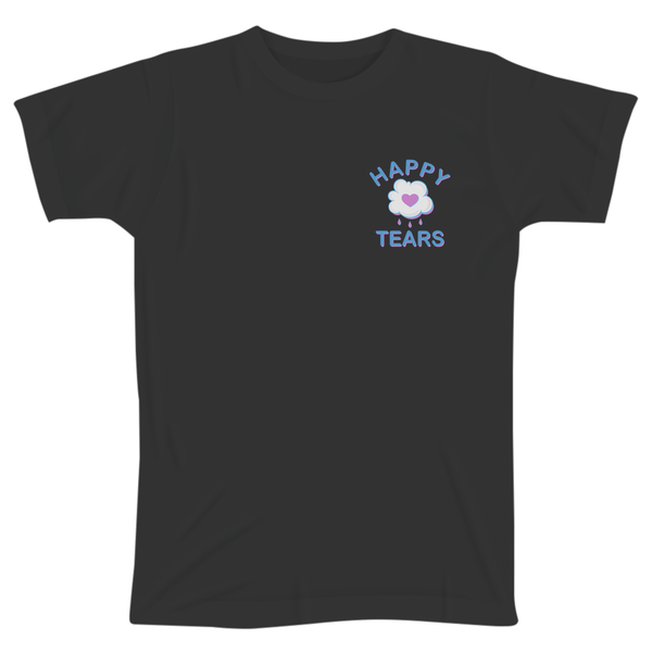 'Happy Tears' T-Shirt (Black)